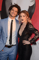 HOLLYWOOD, CA -  APRIL 12: Tyler Posey, Lucy Hale at the premiere of Universal Pictures' 'Blumhouse's Truth or Dare' at the ArcLight Cinemas Dome in Hollywood, California on April 12, 2018. <br /> CAP/MPI/DE<br /> &copy;DE/MPI/Capital Pictures