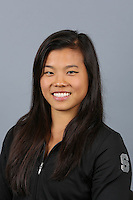 STANFORD, CA-October 16, 2014- Ivana Hong of the Stanford Womens Gymnastics Team