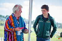 Breakfast with the STARS: Team Ireland Equestrian's Silver Medal WEG 2018 - Cathal Daniels. 2018 NZL-Puhinui International Horse Trials. Auckland. Saturday 8 December. Copyright Photo: Libby Law Photography