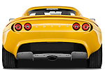 Straight rear view of a 2009 Lotus Elise SC 2 Door Convertible
