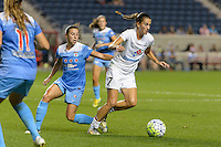 Chicago, IL - Wednesday Sept. 07, 2016: Vanessa DiBernardo, Mandy Laddish during a regular season National Women's Soccer League (NWSL) match between the Chicago Red Stars and FC Kansas City at Toyota Park.