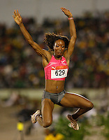 Funmi Jimoh had a mark of 6.19m at the Jamaica International Invitational Meet on Saturday, May 2nd. 2009. Photo by Errol Anderson,The Sporting Image.net