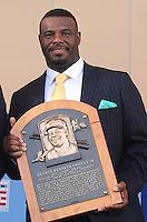 NEW YORK, NY - July 24: Ken Griffey Jr. is inducted into the Baseball Hall of Fame on July 24, 2016 in Cooperstown, New York. Photo Credit:John Palmer/ Media Punch