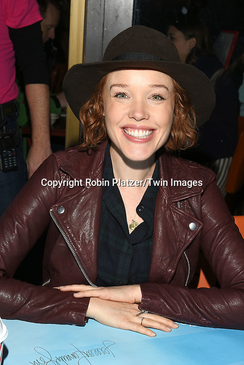 Jessica Keenan Wynn attends the Broadway Cares/Equity Fights Aids Flea Market and Grand Auction on September 25, 2016 at the Music Box Theatre and in Shubert Ally in New York, New York, USA. <br /> <br /> photo by Robin Platzer/Twin Images<br />  <br /> phone number 212-935-0770