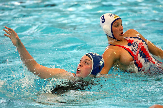 12th Fina World Swimming Championships Melbourne, 2007, Waterpolo gold Bronze medal game Hungary v Russia