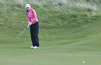 Kate Lanigan (Hermitage) on the 8th green during Round 3 of the Irish Women's Open Stroke Play Championship 2018 on Sunday 13th May 2018.<br /> Picture:  Thos Caffrey / Golffile<br /> <br /> All photo usage must carry mandatory copyright credit (&copy; Golffile | Thos Caffrey)