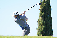 Eddie Pepperell (ENG) during Round 3 of the Portugal Masters, Dom Pedro Victoria Golf Course, Vilamoura, Vilamoura, Portugal, 26/10/2019<br /> Picture Andy Crook / Golffile.ie<br /> <br /> All photo usage must carry mandatory copyright credit (© Golffile   Andy Crook)