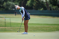 Nelly Korda (USA) barely misses her long birdie putt on 4 during round 3 of the 2019 US Women's Open, Charleston Country Club, Charleston, South Carolina,  USA. 6/1/2019.<br /> Picture: Golffile | Ken Murray<br /> <br /> All photo usage must carry mandatory copyright credit (© Golffile | Ken Murray)