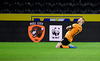 Hull City's Marcus Maddison celebrates scoring his side's second goal<br /> <br /> Photographer Chris Vaughan/CameraSport<br /> <br /> The EFL Sky Bet Championship - Hull City v Swansea City -  Friday 14th February 2020 - KCOM Stadium - Hull<br /> <br /> World Copyright © 2020 CameraSport. All rights reserved. 43 Linden Ave. Countesthorpe. Leicester. England. LE8 5PG - Tel: +44 (0) 116 277 4147 - admin@camerasport.com - www.camerasport.com