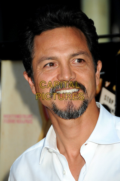 "BENJAMIN BRATT .""Love Ranch"" Los Angeles Premiere held at Arclight Cinemas, Hollywood, California, USA, 23rd June 2010..arrivals portrait headshot white shirt beard facial hair goatee smiling .CAP/ADM/BP.©Byron Purvis/AdMedia/Capital Pictures."