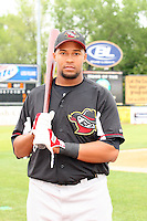 May 15, 2010: Edgar Lara of the Quad City River Bandits at Elfstrom Stadium in Geneva, IL. The River Bandits are the Class A affiliate of the St. Louis Cardinals. Photo by: Chris Proctor/Four Seam Images