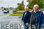 Tim Corkery and Donal Murphy at Blackrock estate ib Tralee