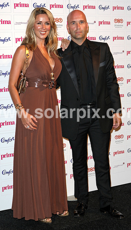 **ALL ROUND PICTURES FROM SOLARPIX.COM**.**WORLDWIDE SYNDICATION RIGHTS**.Guests attend the 2007 Comfort Prima High Street Fashion Awards, at the Battersea Evolution Marquee, Battersea Park, London. The annual Comfort Prima High Street Fashion Awards has been described as 'the Oscars of the high street fashion industry'. Thursday 13th September 2007...This pic: Claire Sweeney and partner..JOB REF: 4709 SSD     DATE: 13_09_2007.**MUST CREDIT SOLARPIX.COM OR DOUBLE FEE WILL BE CHARGED* *UNDER NO CIRCUMSTANCES IS THIS IMAGE TO BE REPRODUCED FOR ANY ONLINE EDITION WITHOUT PRIOR PERMISSION*