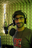 Antonio Ricci, uno dei fondatori di Radio Kaos Italy e Radio Kaos ItaLIS.La redazione di Radio Kaos ItaLIS ,web radio di e per sordi, progetto creato dall'Associazione culturale Radio Kaos Italy..The editorial staff of Radio Kaos ItaLIS, web radio for the deaf, the project created by the Cultural Radio Kaos Italy.