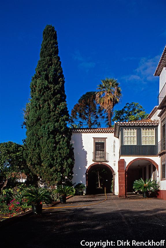 Portugal, Madeira, Museum Quinta das Cruzes in Funchal