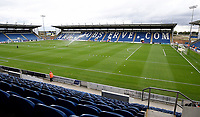 Weston homes Community Stadium home of Colchester United<br /> <br /> Photographer Hannah Fountain/CameraSport<br /> <br /> <br /> The EFL Sky Bet League Two - Colchester United v Mansfield Town - Saturday 7th October 2017 - Colchester Community Stadium - Colchester<br /> <br /> World Copyright &copy; 2017 CameraSport. All rights reserved. 43 Linden Ave. Countesthorpe. Leicester. England. LE8 5PG - Tel: +44 (0) 116 277 4147 - admin@camerasport.com - www.camerasport.com