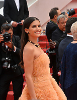 "CANNES, FRANCE. May 21, 2019: Sara Sampaio at the gala premiere for ""Once Upon a Time in Hollywood"" at the Festival de Cannes.<br /> Picture: Paul Smith / Featureflash"