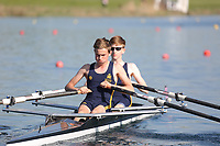 Race: 69  Event: J15 2x  C Final<br /> <br /> Junior Sculling Regatta 2018<br /> <br /> To purchase this photo, or to see pricing information for Prints and Downloads, click the blue 'Add to Cart' button at the top-right of the page.