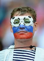 FUSSBALL  EUROPAMEISTERSCHAFT 2012   VORRUNDE Polen - Russland             12.06.2012 Russische Fans im Stadion  Pressefoto ULMER/Claus Cremer xxNOxMODELxRELEASExx
