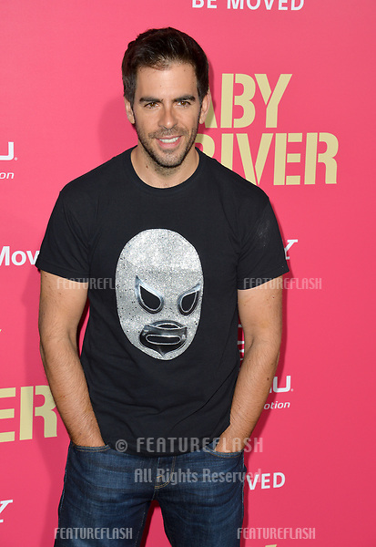 Eli Roth at the Los Angeles premiere for &quot;Baby Driver&quot; at the Ace Hotel Downtown. <br /> Los Angeles, USA 14 June  2017<br /> Picture: Paul Smith/Featureflash/SilverHub 0208 004 5359 sales@silverhubmedia.com