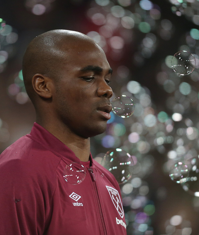 West Ham United's Angelo Ogbonna<br /> <br /> Photographer Rob Newell/CameraSport<br /> <br /> The Premier League - West Ham United v Brighton and Hove Albion - Wednesday 2nd January 2019 - London Stadium - London<br /> <br /> World Copyright © 2019 CameraSport. All rights reserved. 43 Linden Ave. Countesthorpe. Leicester. England. LE8 5PG - Tel: +44 (0) 116 277 4147 - admin@camerasport.com - www.camerasport.com