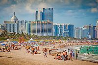 Beach activity, Miami Beach, Florida, USA. Photo by Debi Pittman Wilkey