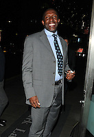 Linford Christie at the Nordoff Robbins Boxing Dinner, London Hilton Park Lane Hotel, Park Lane, London, England, UK, on Monday 24 October 2016. <br /> CAP/CAN<br /> &copy;CAN/Capital Pictures /MediaPunch ***NORTH AND SOUTH AMERICAS ONLY***