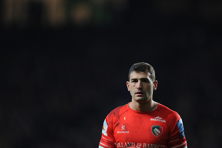 Jonny May of Leicester Tigers looks on during Big Game 12 in the Gallagher Premiership Rugby match between Harlequins and Leicester Tigers at Twickenham Stadium on Saturday 28th December 2019 (Photo by Rob Munro/Stewart Communications)
