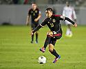 CARSON, CA - March 23, 2012: Marco Fabian (10) of Mexico during the Mexico vs Trinidad & Tobago match at the Home Depot Center in Carson, California. Final score Mexico 7, Trinidad & Tobago 1.