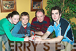 GAMES: Writing the answers down at the Community Games Adult Table Quiz at The Tankard Kilfenora, Fenit, on Friday night were Rose O'Connor, Paul O'Callaghan, Joseph Lynch and James Daughton from Duagh/Lyreacrompane..