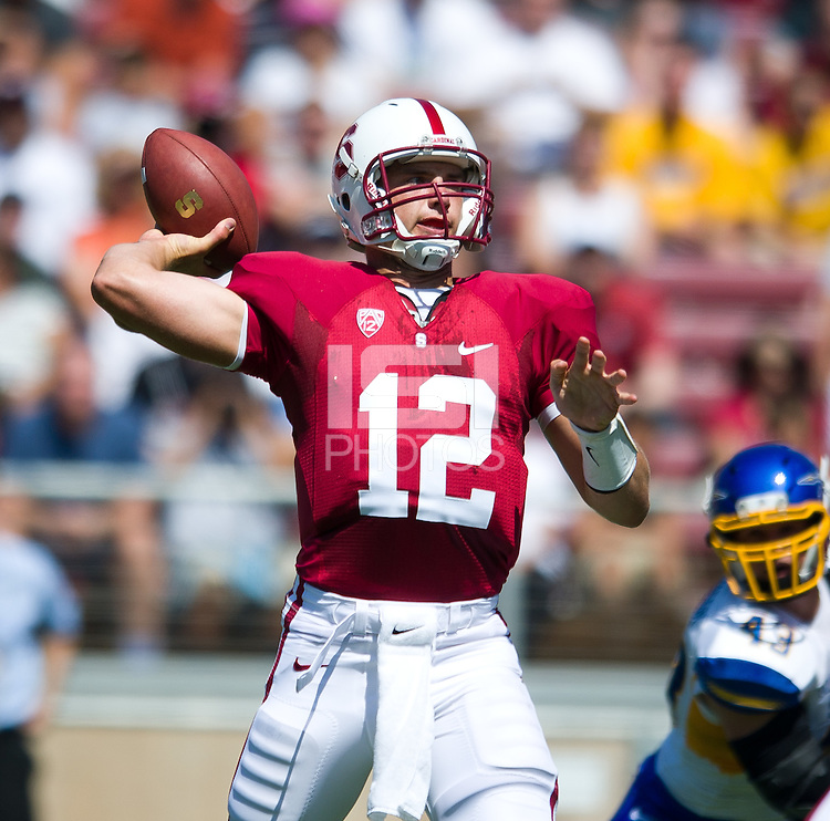 Stanford, Ca-Saturday, Sept. 3, 2010: Stanford defeated San Jose State 57-3 at Stanford Stadium.