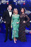 Roman Kemp, Kate Garraway and Myleene Klass<br /> arriving for the Global Awards 2020 at the Eventim Apollo Hammersmith, London.<br /> <br /> ©Ash Knotek  D3559 05/03/2020