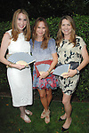 Claire Block, Sheryl Amster, Jennifer Hawks==<br /> LAXART 5th Annual Garden Party Presented by Tory Burch==<br /> Private Residence, Beverly Hills, CA==<br /> August 3, 2014==<br /> &copy;LAXART==<br /> Photo: DAVID CROTTY/Laxart.com==