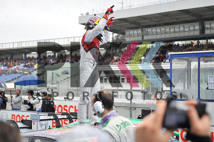 # 5 Mattias Ekstroem auf Audi RS5 DTM Audi Sport vom Team Abt Sportsline laesst sich feiern beim Rennen der DTM auf dem Hockenheimring.<br /> <br /> Foto &copy; P-I-X.org *** Foto ist honorarpflichtig! *** Auf Anfrage in hoeherer Qualitaet/Aufloesung. Belegexemplar erbeten. Veroeffentlichung ausschliesslich fuer journalistisch-publizistische Zwecke. For editorial use only.