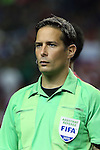 22 July 2015: Assistant Referee Philippe Briere (CAN). The Panama Men's National Team played the Mexico Men's National Team at the Georgia Dome in Atlanta, Georgia in a 2015 CONCACAF Gold Cup semifinal match. Mexico won the game 2-1 after extra time.