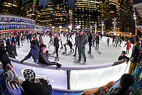 New York City, USA 28 December 2016 - Ice Skating in Bryant Park ©Stacy Walsh Rosenstock