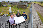 Locals in Inch are delighted that the graveyard is being expanded. Pictured were: Cllr. Michael O'Shea, Mary O'Shea, JOe Hennessy and Pat Joe Fitzgerald.