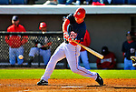 3 March 2009: Washington Nationals' left fielder Ryan Langerhans in action against Italy during a Spring Training exhibition game at Space Coast Stadium in Viera, Florida. The Nationals defeated Italy 9-6. Mandatory Photo Credit: Ed Wolfstein Photo