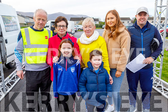 At the Charlie Kerins 10k in Kerins O'Rahilly's on Sunday morning. Front Anna and Eoin Corridan. <br /> Back l to r: Frank and Mary O'Connor (Niece of Charlie Kerins), Catriona O'Sullivan, Jade Eager and Tony Corridan.