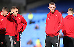 Sheffield United's Oliver McBurnie and Sheffield United's John Fleck during the Premier League match at Selhurst Park, London. Picture date: 1st February 2020. Picture credit should read: Paul Terry/Sportimage