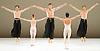 Dutch National Ballet <br /> Hans Van Manen - Master of Dance<br /> Grosse Fuge<br /> rehearsal / photocall<br /> 12th May 2011<br /> at Sadler's Wells. London, Great Britain<br /> <br />  <br /> Jozef Varga<br /> Anu Viheriaranta<br /> Alexander Zhembrovskyy<br /> Marisa Lopez<br /> Matthew Golding <br /> <br /> Photograph by Elliott Franks