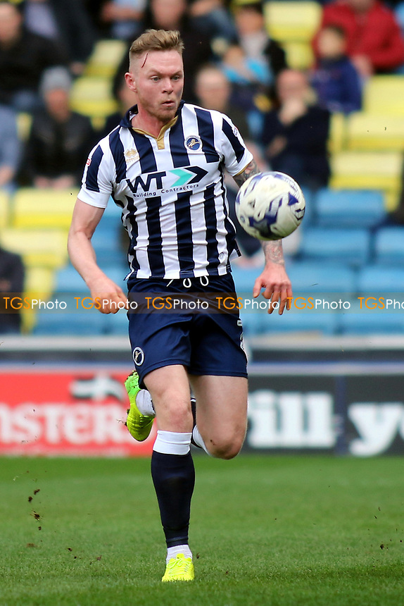 Aiden O'Brien, scorer of Millwall's third goal during Millwall vs Scunthorpe United, Sky Bet EFL League 1 Football at The Den on 1st April 2017