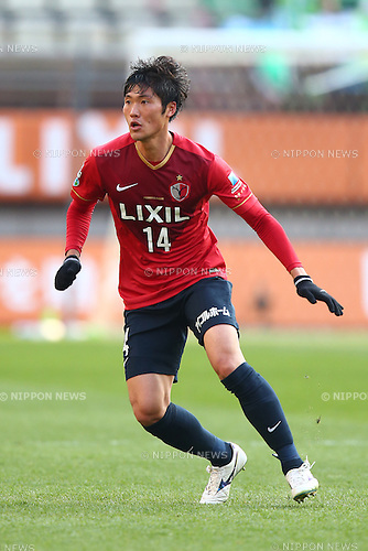 Hwang Seok Ho (Antlers),<br /> MARCH 14, 2015 - Football / Soccer : <br /> 2015 J1 League 1st stage match between<br /> Kashima Antlers 1-2 Shonan Bellmare<br /> at Kashima Soccer Stadium in Ibaraki, Japan.<br /> (Photo by Shingo Ito/AFLO SPORT)