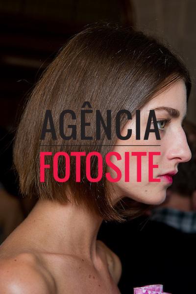 Londres sep/2013 - Backstage de Mary Katrantzou na Semana de moda de Londres - Verao 2014. <br /> Foto: FOTOSITE