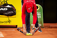 Ballboy during Mutua Madrid Open 2018 at Caja Magica in Madrid, Spain. May 08, 2018. (ALTERPHOTOS/Borja B.Hojas) /NortePhoto.com