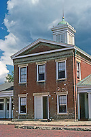 Galena: Old Market House, 1845-46. Photo '77.