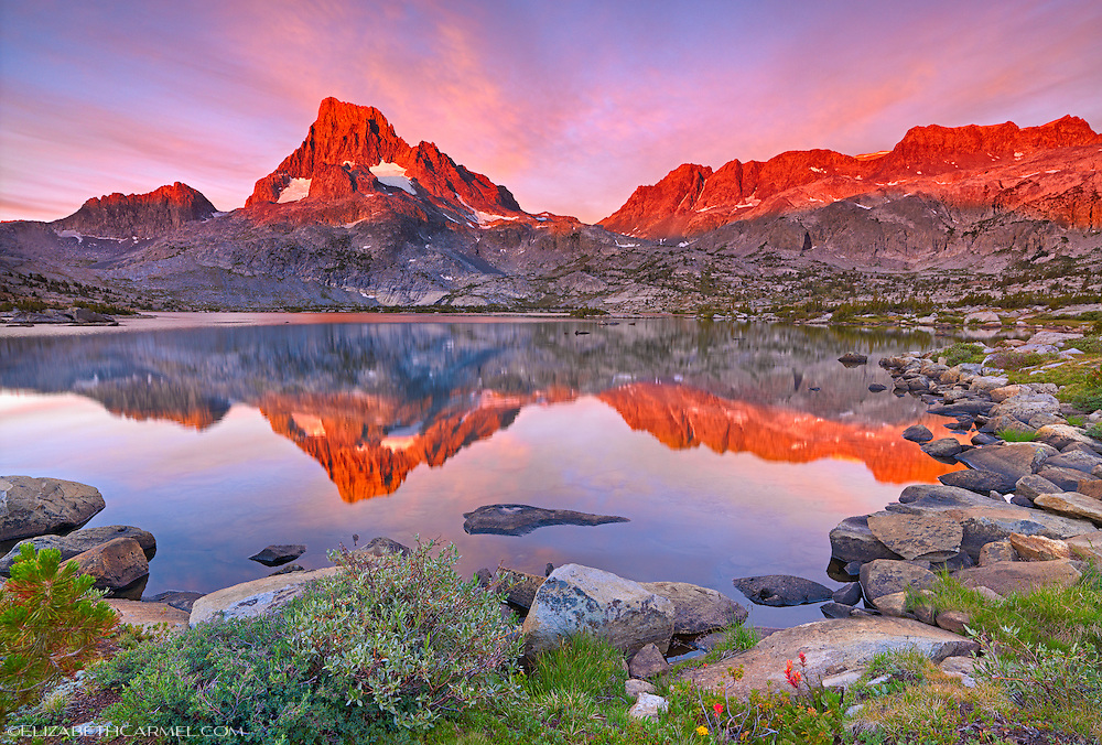 Sunrise Reflections, Ritter Range