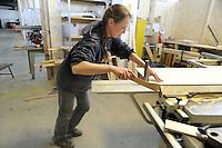 - Trezzano sul Naviglio (Milano) - Ri-Maflow, fabbrica recuperata e autogestita dagli ex dipendenti, laboratorio artigiano di falegnameria<br /> <br /> - Trezzano sul Naviglio (Milan) - Rimaflow, recuperated factory and self-managed by former employees, workshop of woodworking