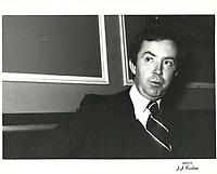 Joe Clark<br /> , 1978<br /> <br /> <br /> PHOTO : JJ Raudsepp  - Agence Quebec presse