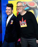 "LOS ANGELES - FEB 2:  Ross Haynes, Matthew Ashton at ""The Lego Movie 2: The Second Part"" Premiere at the Village Theater on February 2, 2019 in Westwood, CA"